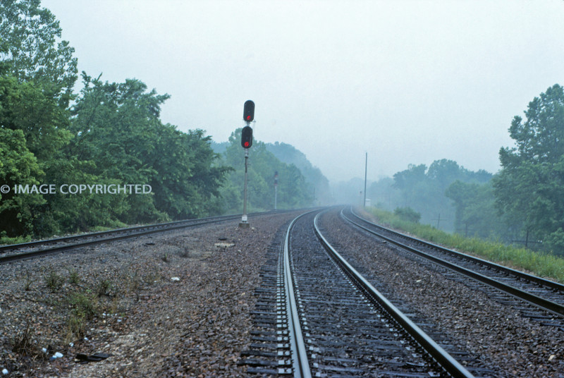 Mopac 272 - Jun 3 1992 - east at Union Electric  - Labadie MO