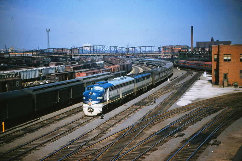 MOPAC 138 - May 19th 1956 - No  22 - 7021 - 8017 @ St  Louis Union Station