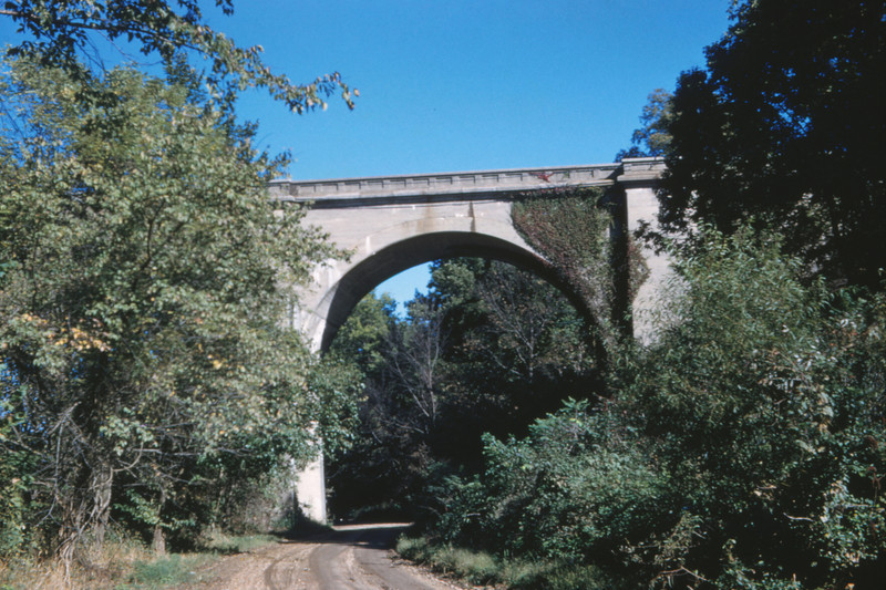 Mopac 205 - Oct 6 1959 - bridge at Thebes ILL