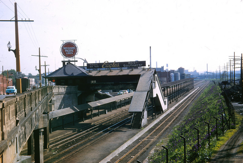 Mopac 194 - May 9 1958 - Tower Grove  Station St  Louis MO