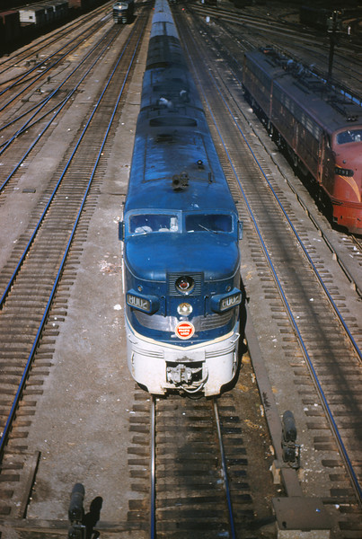 Mopac 18 Sep 2 1954 - Alco-GE 8002 @ 14th St  St  Louis