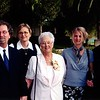 Kevin, Jan, Mom, Israel, and Tommy at Monica and Kyle's wedding