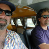 Tommy & Kevin go for a spin in Gretchen, Kevin's 66 VW bus