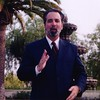 Tommy interpreting at Monica's wedding
