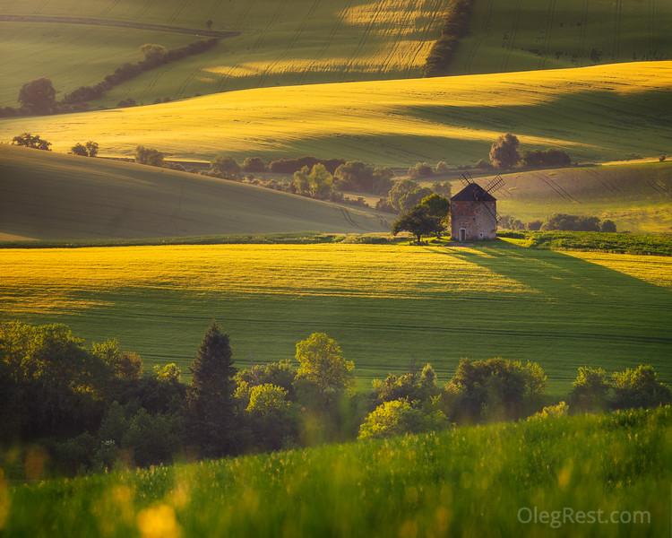 Windmill in Moravia