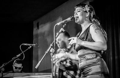 Laverne & The Savoys, Rhythm Riot, 2015 in Black n White