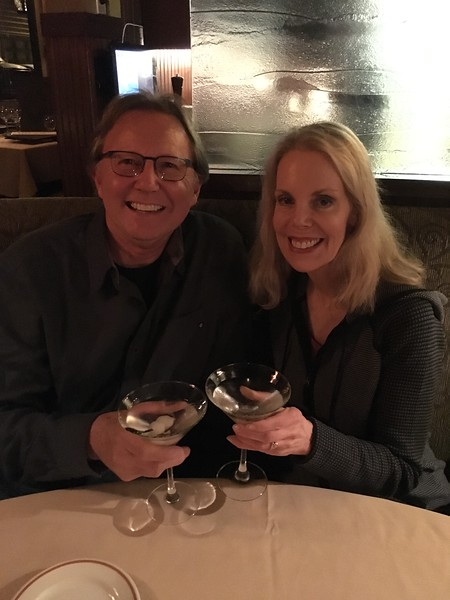 Anniversary dinner at an old favorite (I guess at 30 years of marriage we are old favorites, too) Daniel's Broiler at Leschi in Seattle on Lake Washington Boulevard