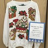 Two-time First Place Winner! Best Ugly Christmas sweater contest - won by both John & Ira on separate occasions.