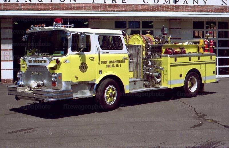 Fort Washington: 1976 Mack CF 1250/500