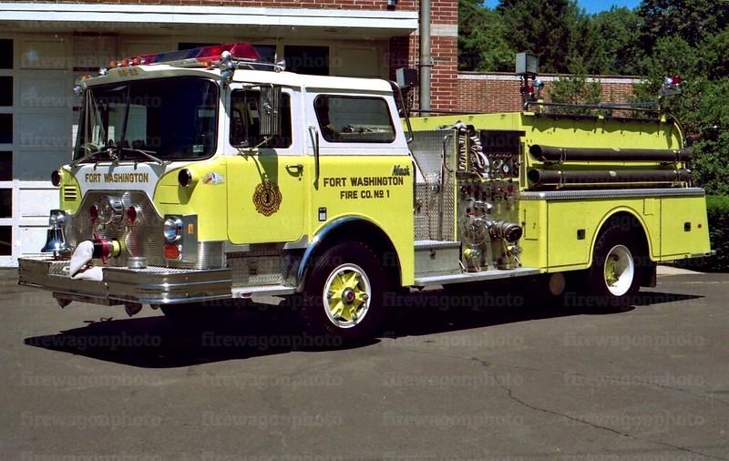 Fort Washington: 1983 Mack CF 1250/500