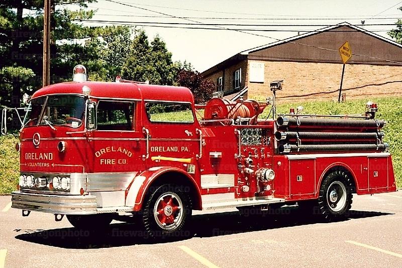 Oreland: 1962 Mack C95 1000/350
