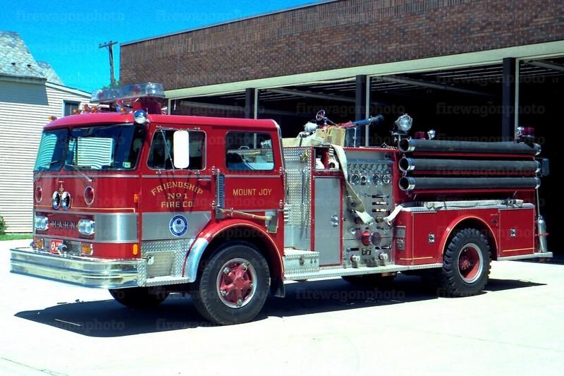 Mount Joy, PA: 1974 Hahn 1250/500