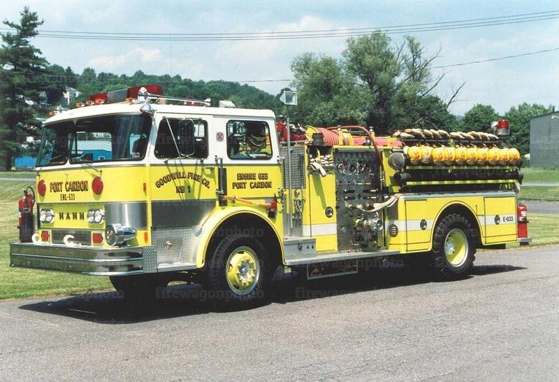 Port Carbon, PA: 1978 Hahn 1000/500