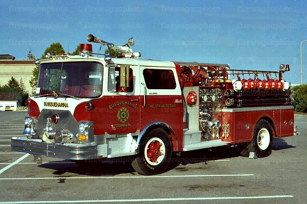 Lancaster Co. Apparatus of the Past