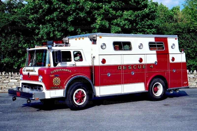 Susquehana - Columbia: 1977 Ford C/Hamerly