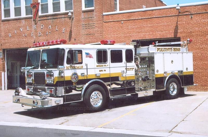 Riverdale, MD: 1992 Seagrave