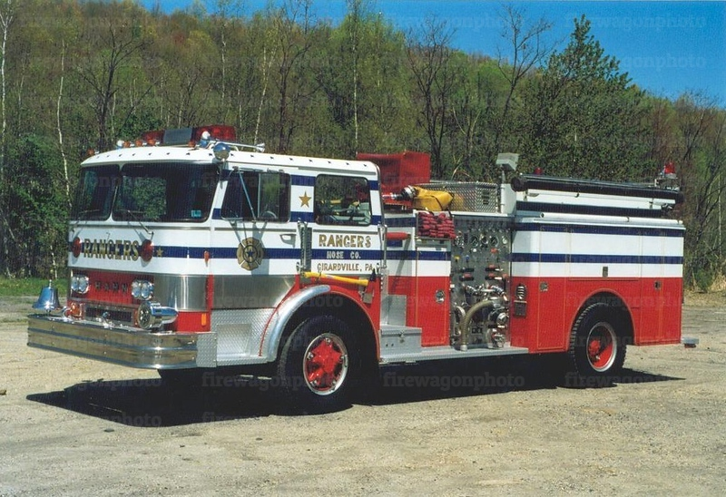 Rangers Hose - Girardville, PA<br /> x-Falls Township, PA