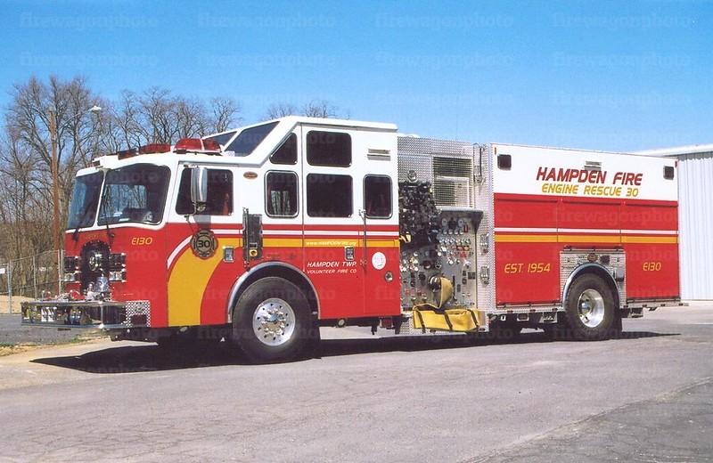Hampden Township, PA: 2005 KME Excel 2000/750