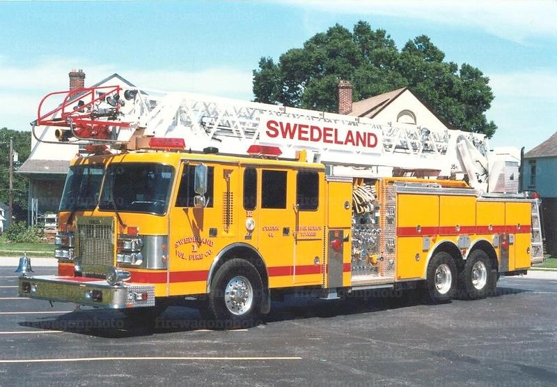 Swedeland, PA: 1996 Duplex/Smeal 1500/500/105'