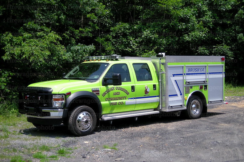 Hickory Corners, PA: 2008 Ford F550/KME
