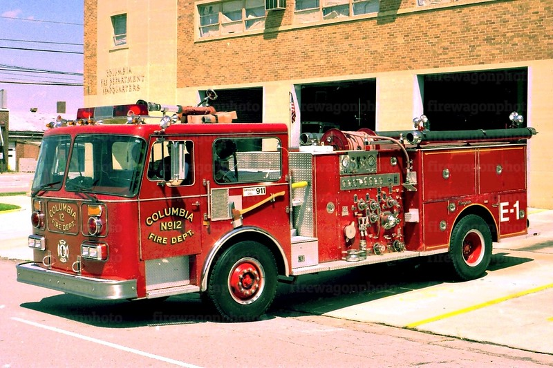 City of Columbia, South Carolina - Engine 1