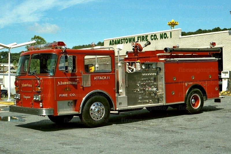 Adamstown, PA: 1984 Seagrave 1500/750