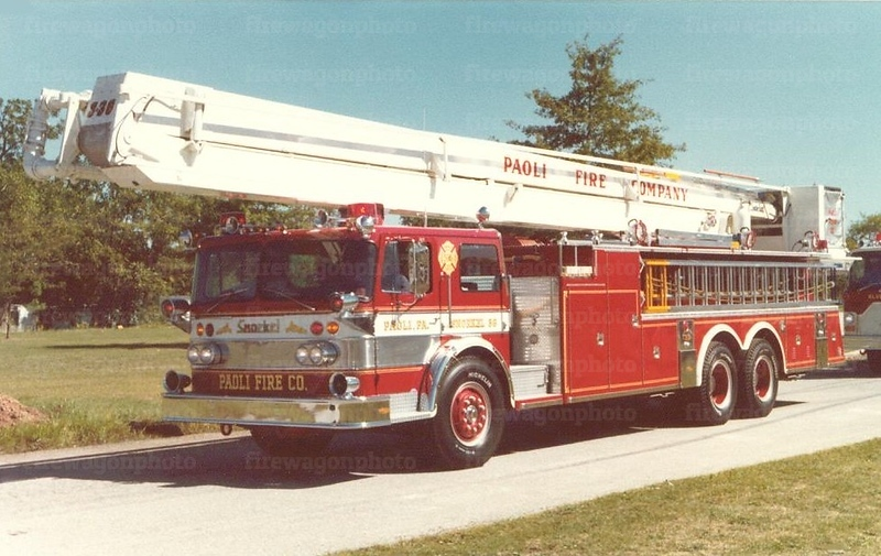 Paoli, PA: 1976 Oshkosh/Pierce 300/250/85'