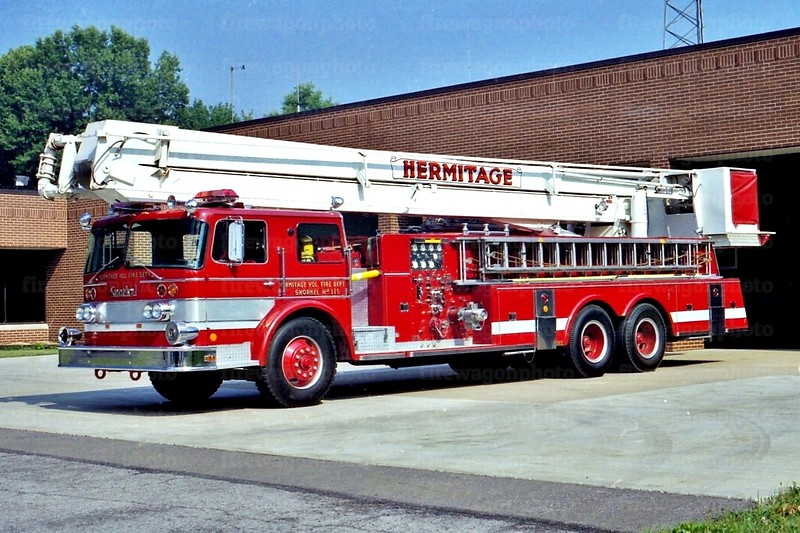 Hermitage, PA: 1969  Oshkosh/Pierce 1000/250/75 ft.
