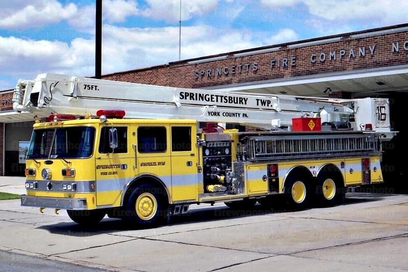 Springettsbury Township, PA: 1990/ 1969 Pierce Arrow 1000/200/75'