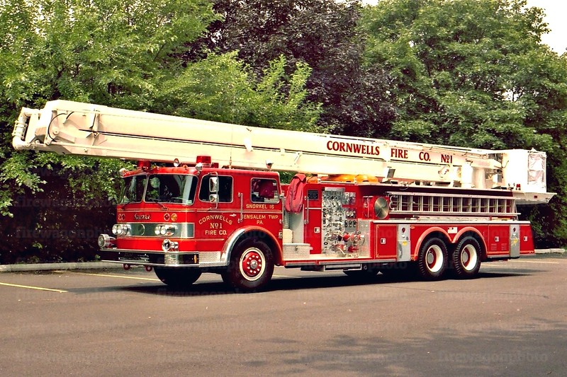 Cornwells, PA: 1971 Oshkosh/Pierce 1000/250/85 ft.