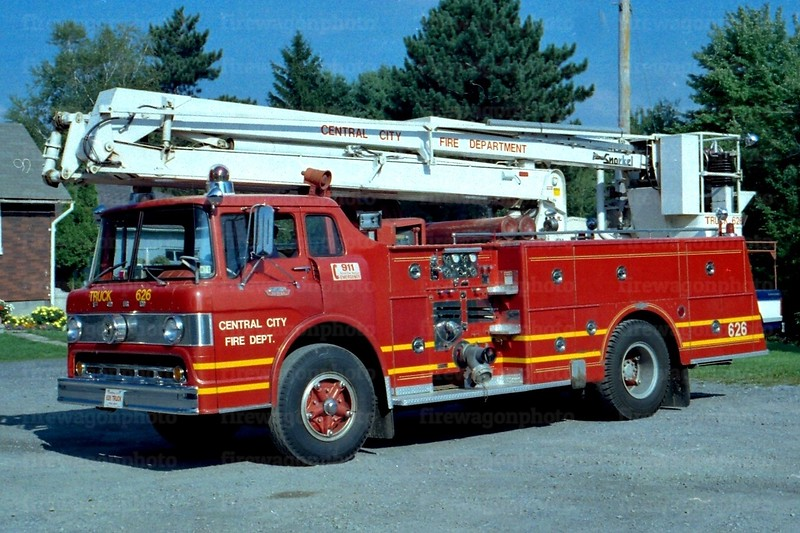 Central City, PA: 1964 Ford C/Pirsch 1000/250/50 ft.<br /> x-Vandergrift, PA