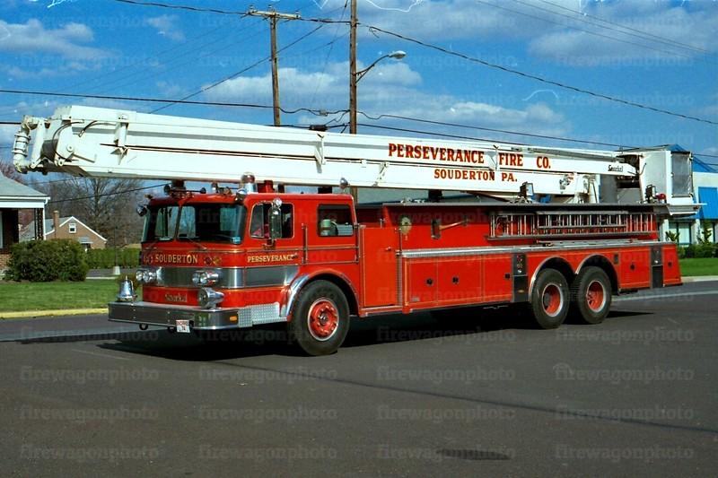 Souderton, PA: 1973 Oshkosh/Pierce 85 ft.