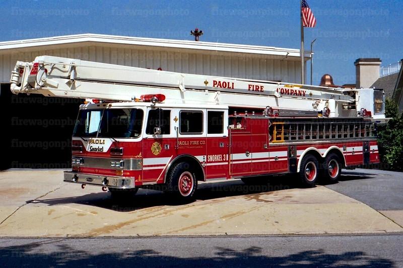 Paoli, PA: 1990/ 1976 Pierce Arrow 300/250/85 ft.