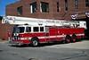 City of Portland, Maine - Munjoy Hill station<br /> Ladder 1: 1993/ 2009 Pierce Arrow/Snorkel 85'