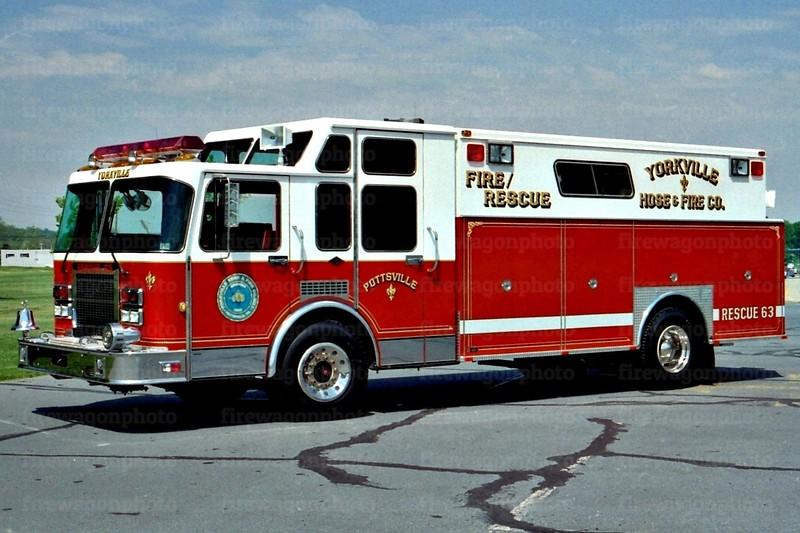 Pottsville, PA - Yorkville Hose Co.