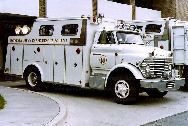 Bethesda-Chevy Chase Rescue Squad, Maryland