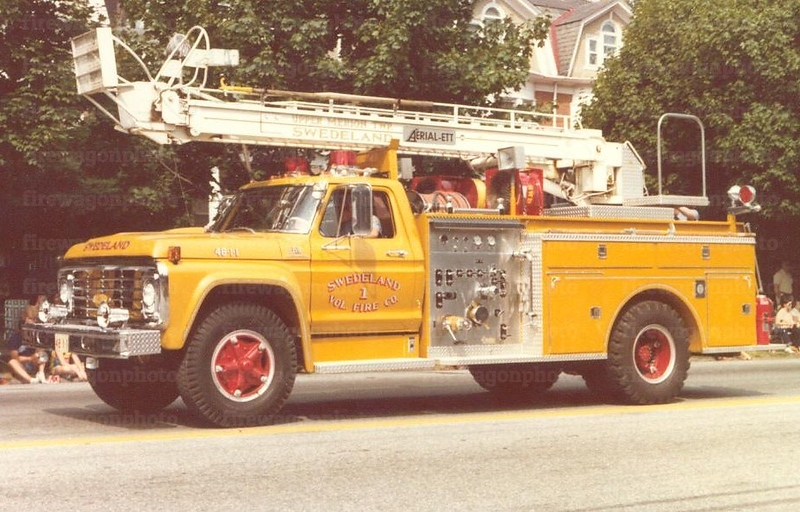 Swedeland, PA: 1974 Ford/Pierce 37ft. Aerial-ETT