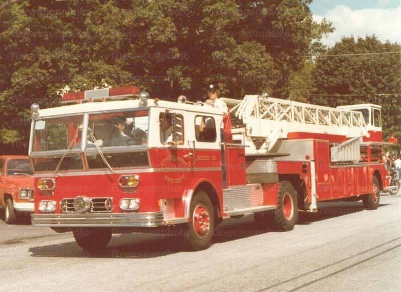 Upper Darby, PA - FC No. 3: 1975 Ward LaFrance/LTi