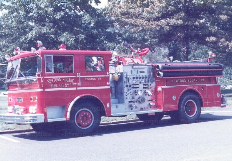 Newtown Square, PA - Ward LaFrance pumper