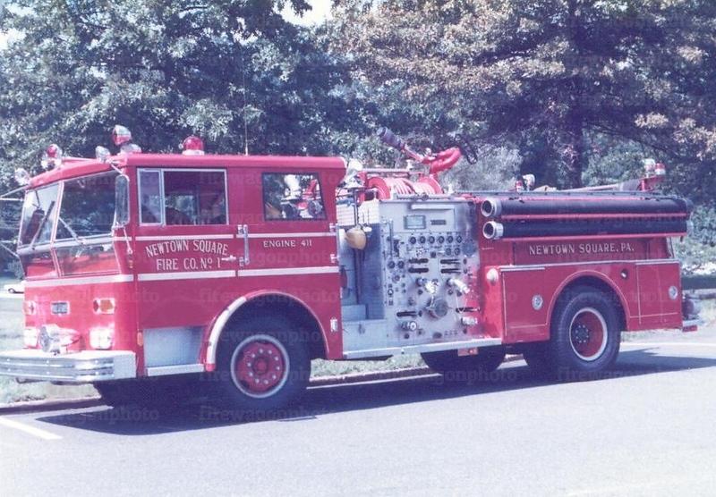Newtown Square, PA - Ward LaFrance pumper