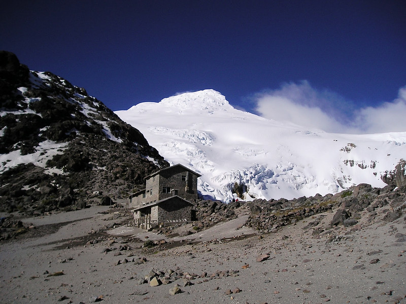 Cayambe - not my photo, just for illustrative purposes (we never got a clear view)