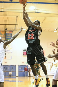 Deandre Longham makes a layup