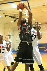 Malik Price-Martin (1) gets fouled by Freddy Bitondo