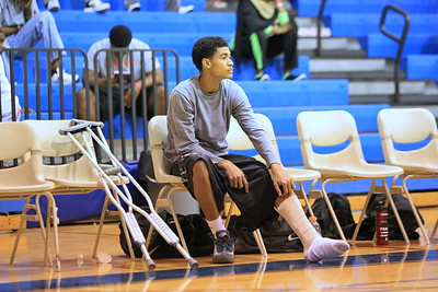 Northeast Guard Corey Mendez is sidelined with an injury