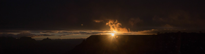 Sunrise Grand Canyon and Arizona Route 66