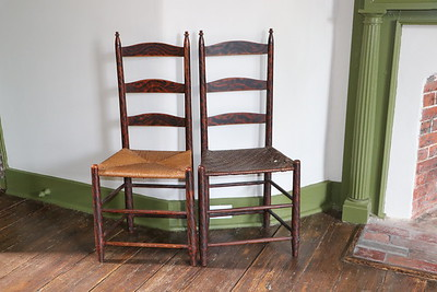 Chairs dating back to 1800s