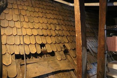 Old Roof Behind Closet Door