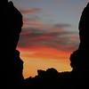 Pfeiffer Beach Rock Formation at Dusk, Pfeiffer Big Sur State Park, CA