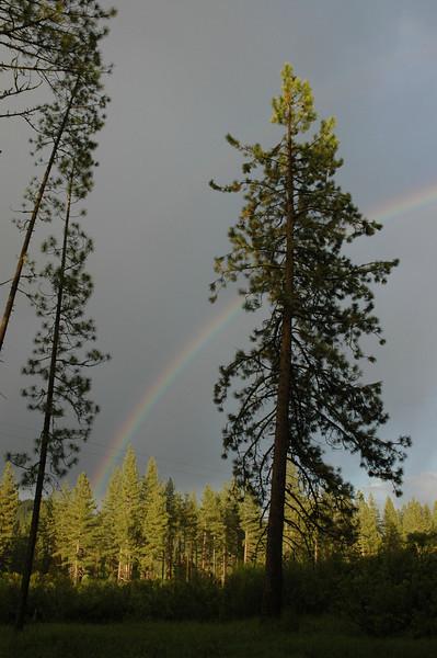 Rainbow near Feather River, CA