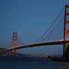 The Golden Gate Bridge on its 75th anniversary